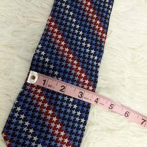 Ties to America Accessories - Ties to America Tie Stars USA Red White Blue